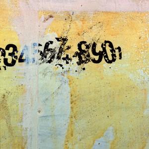 número no muro