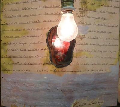 leitor é uma lâmpada acesa