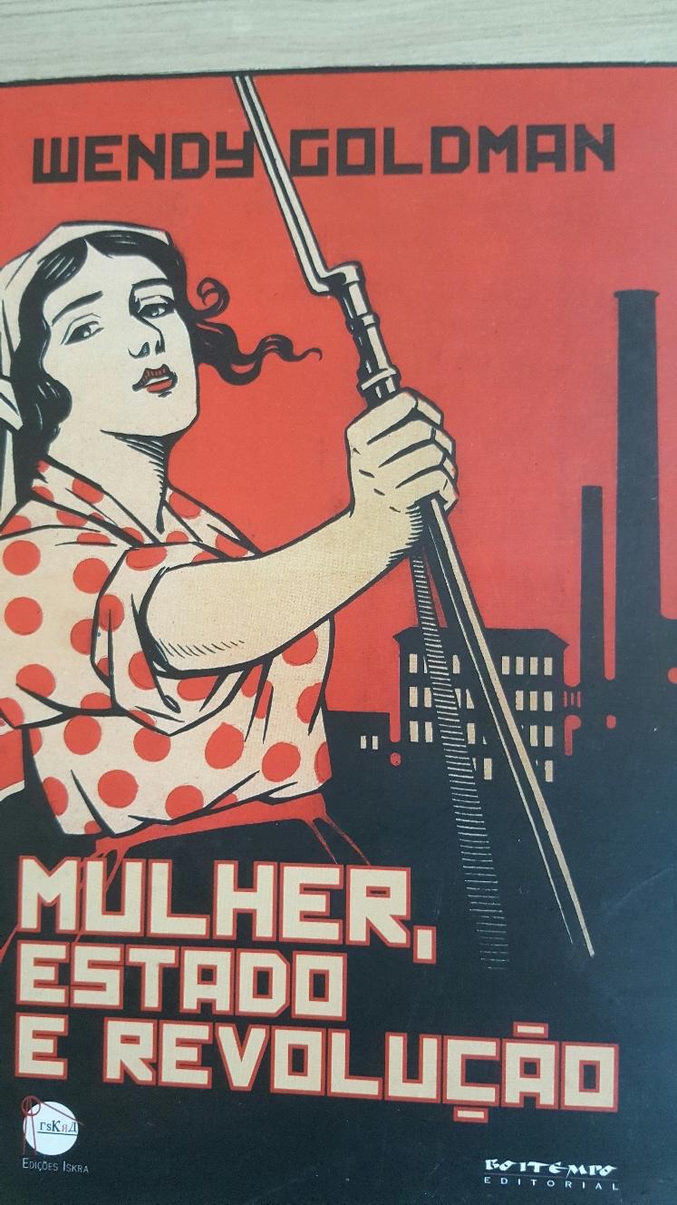 Cartaz : Trabalhadoras, levantem os fuzis.