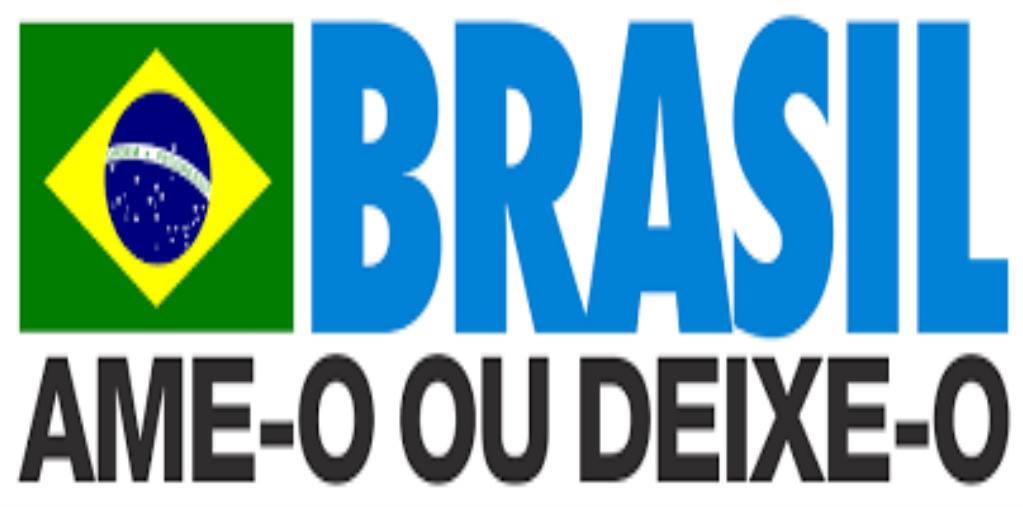 slogan da ditadura