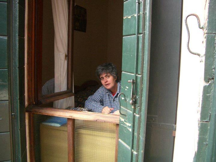 Eu em Veneza, 2005. Foto Régine Ferrandis