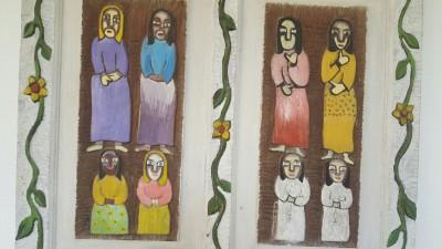 Figuras populares em madeira