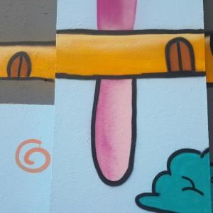 Grafite com dedo-duro