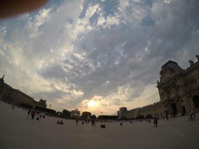 Uma foto da luminosa Paris
