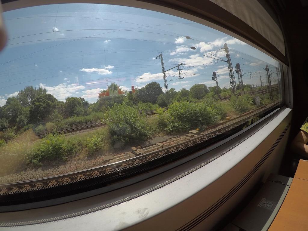 Paris-Berlin de trem