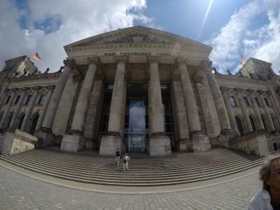 Foto do Parlamento Alemao