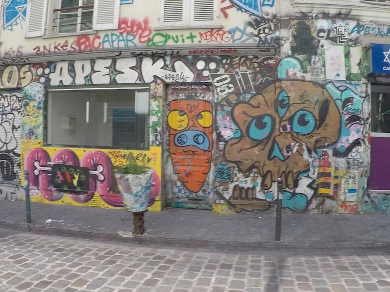 belleville grafitada