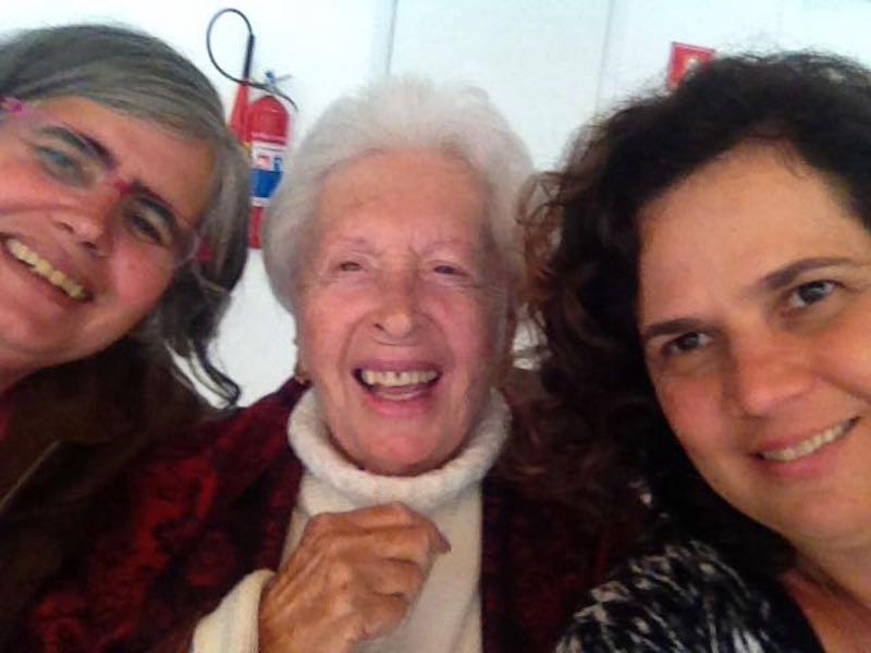 A blogueira, Clara Charf, Patrícia Negrão