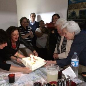 bolo de 92 anos da clara charf